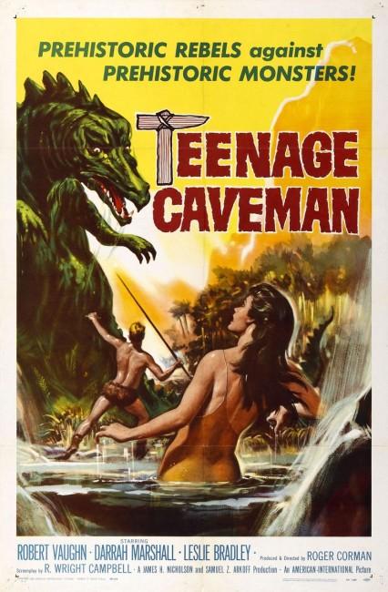 Teenage Caveman (1958) poster