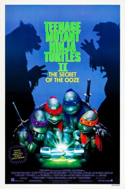 Teenage Mutant Ninja Turtles II: The Secret of the Ooze (1991) poster
