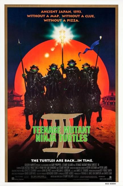 Teenage Mutant Ninja Turtles III (1993) poster