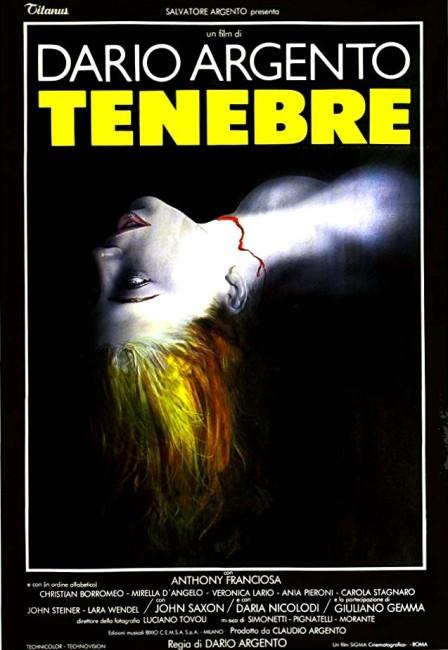 Tenebrae (1982) poster