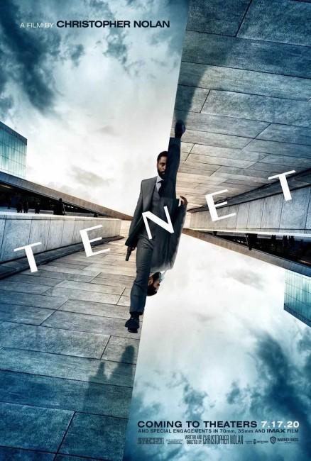 Tenet (2020) poster