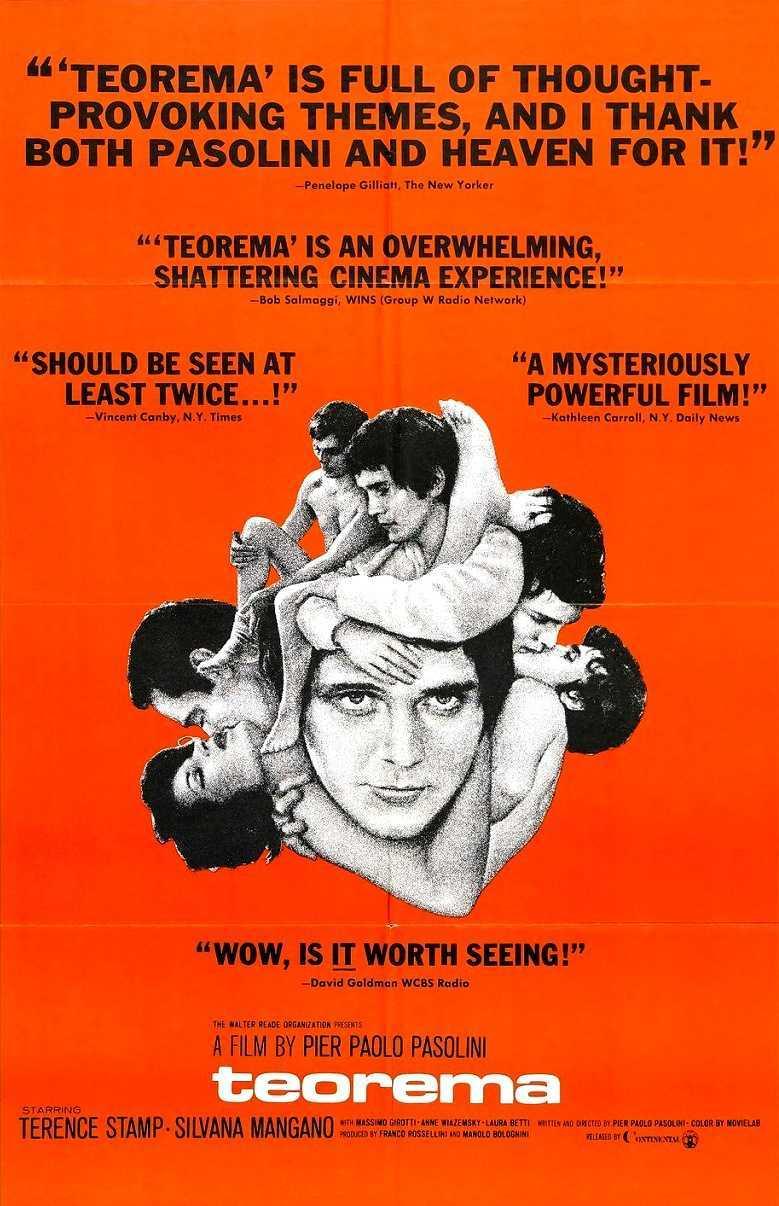 Teorema (1968) poster