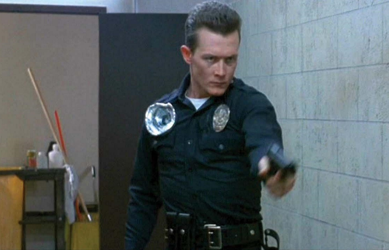 The T-1000 (Robert Patrick in Terminator 2 Judgment Day (1991)