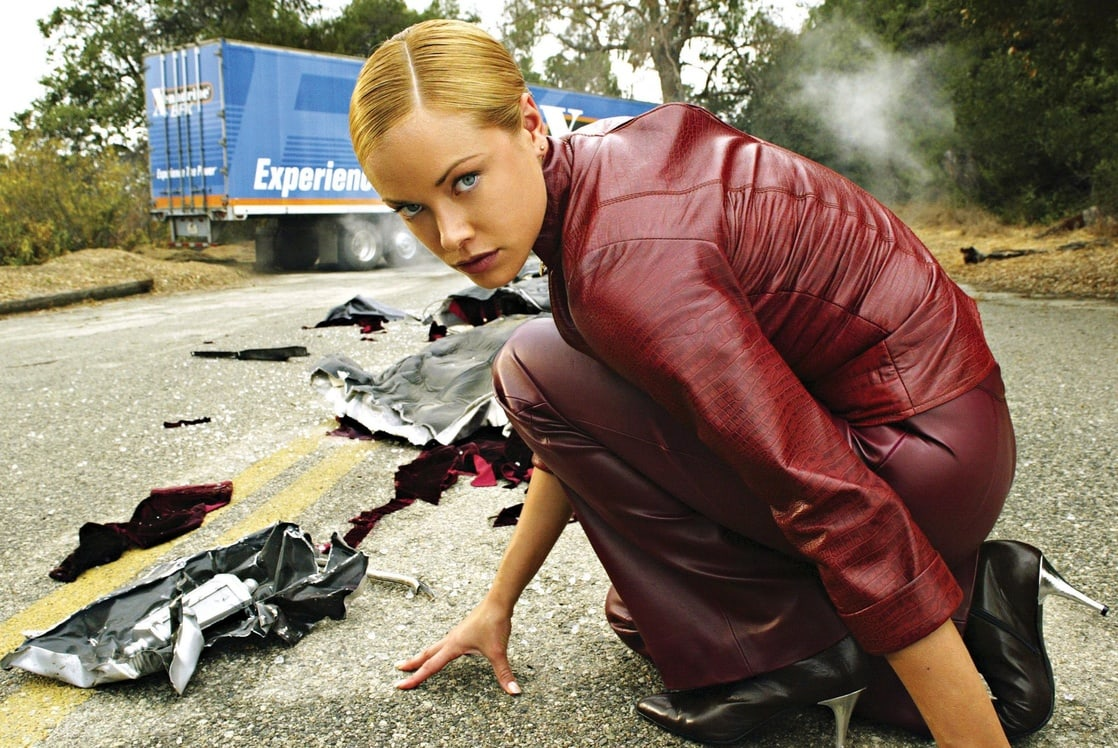Kristanna Loken as The T-X in Terminator 3: Rise of the Machines (2003)