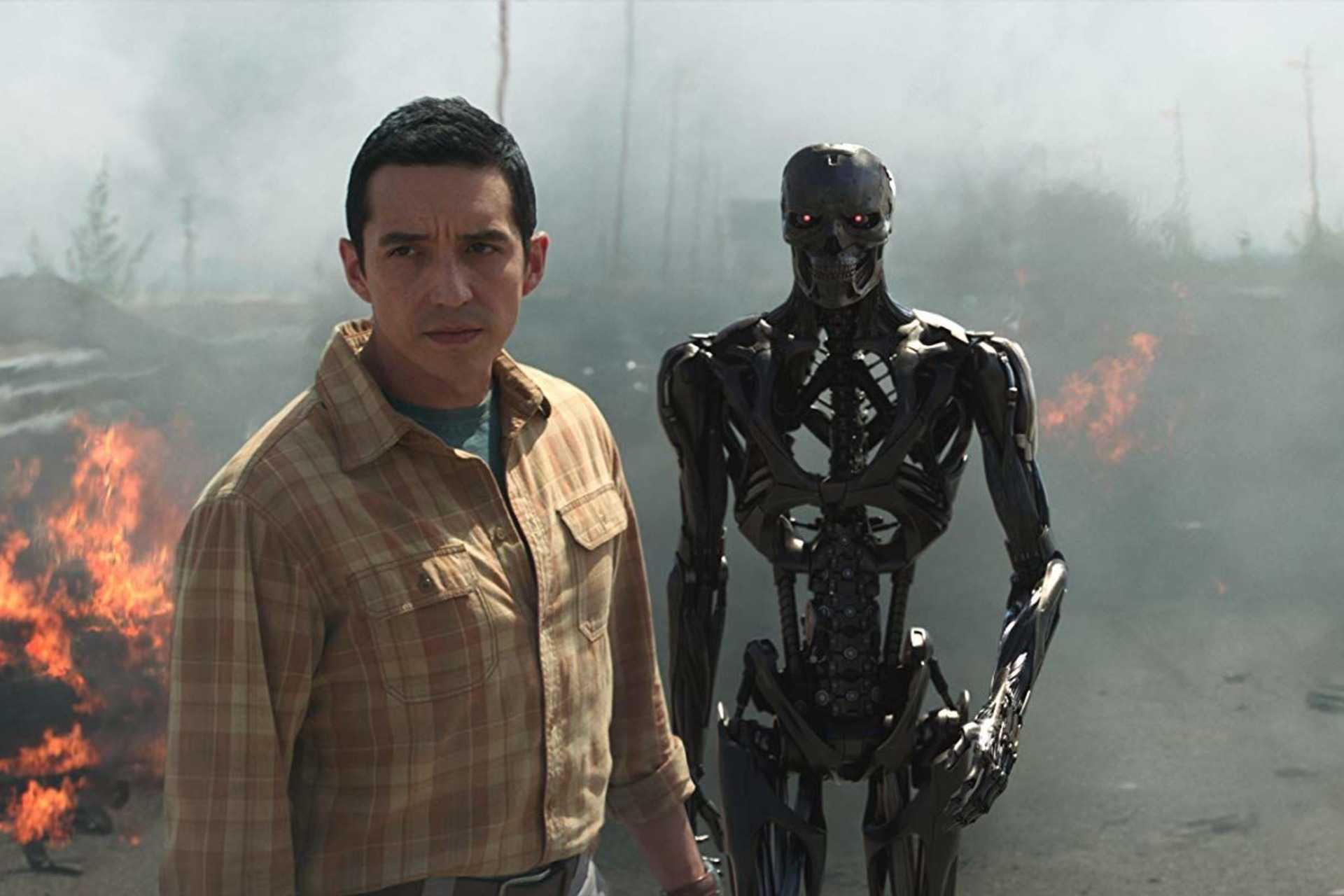 Gabriel Luna as the Rev-9 in Terminator: Dark Fate (2019)