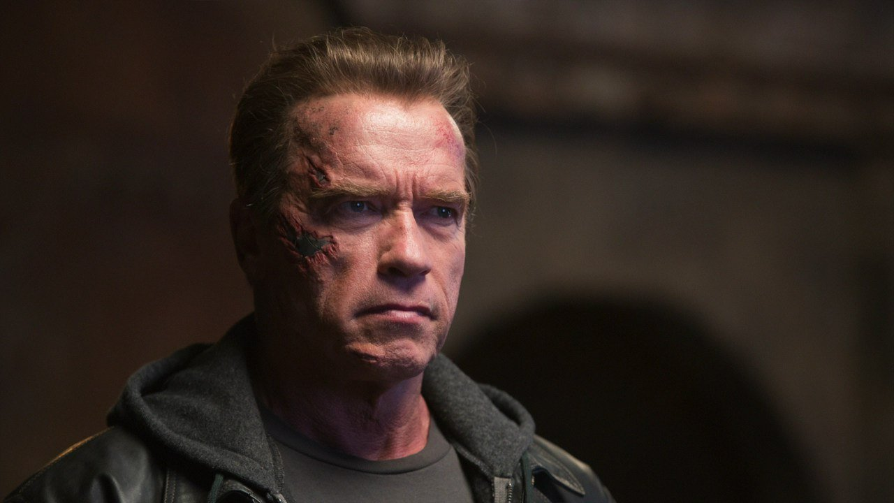 Arnold Schwarzenegger back in Terminator Genisys (2015)