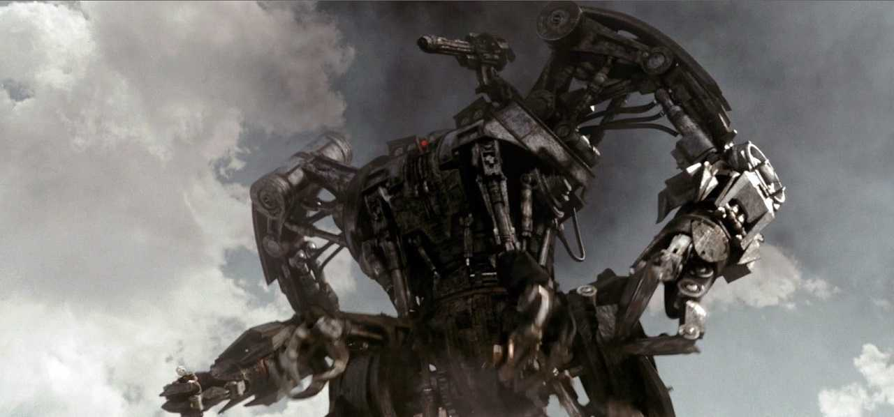 The giant Harvester robot in Terminator Salvation (2009)