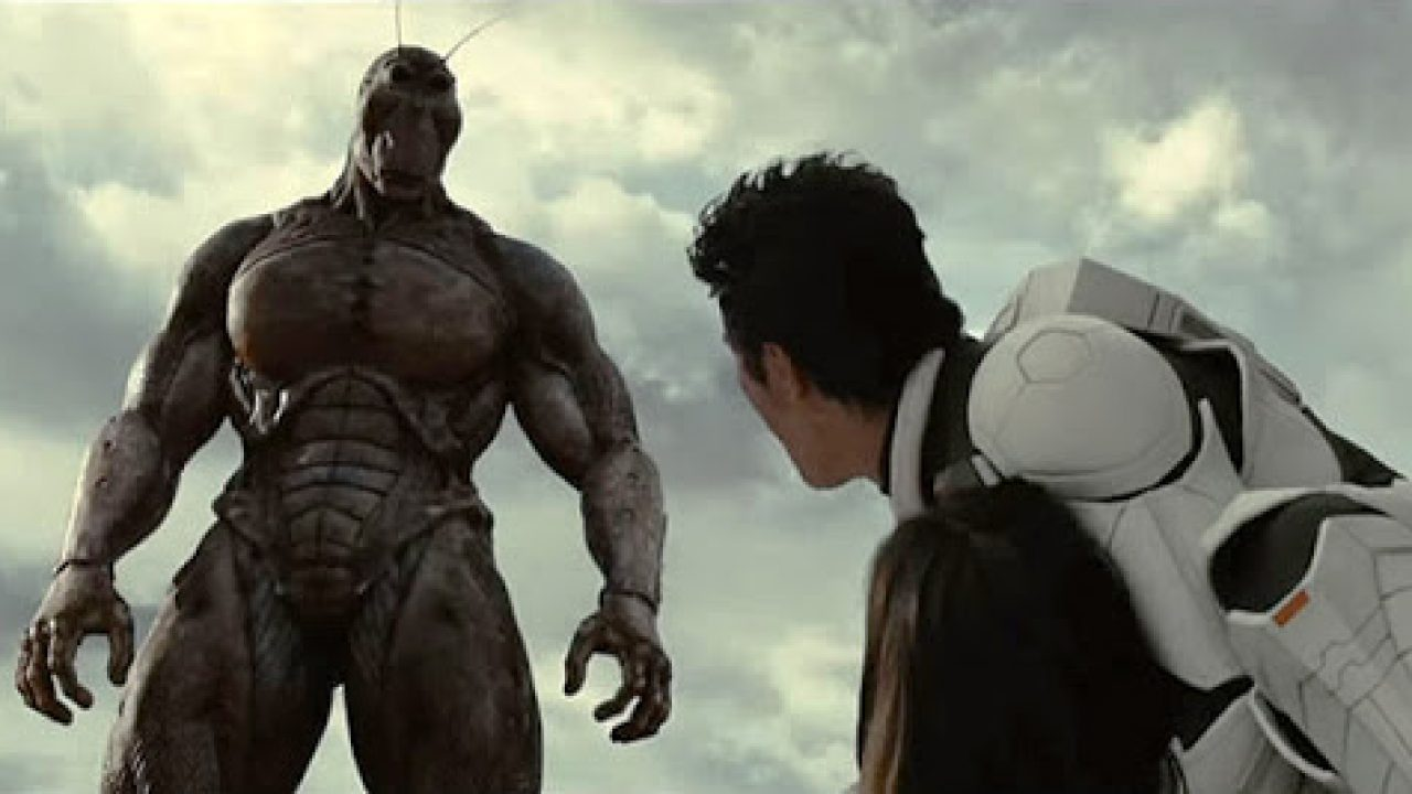 Astronauts vs giant evolved cockroaches on Mars in Terra Formars (2016)