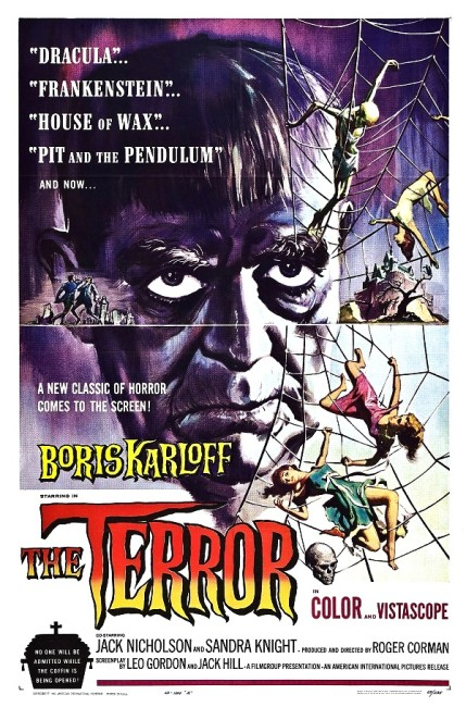The Terror (1963) poster