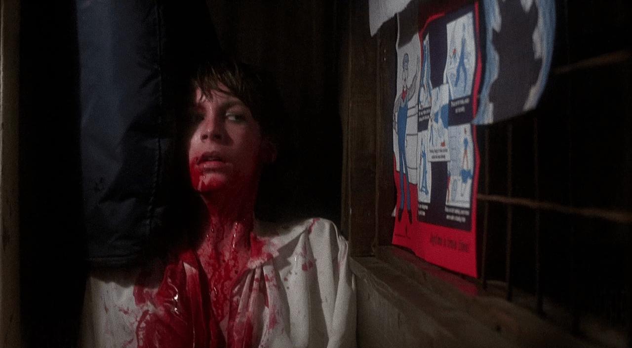 Quintessential Final Girl Jamie Lee Curtis in Terror Train (1980)