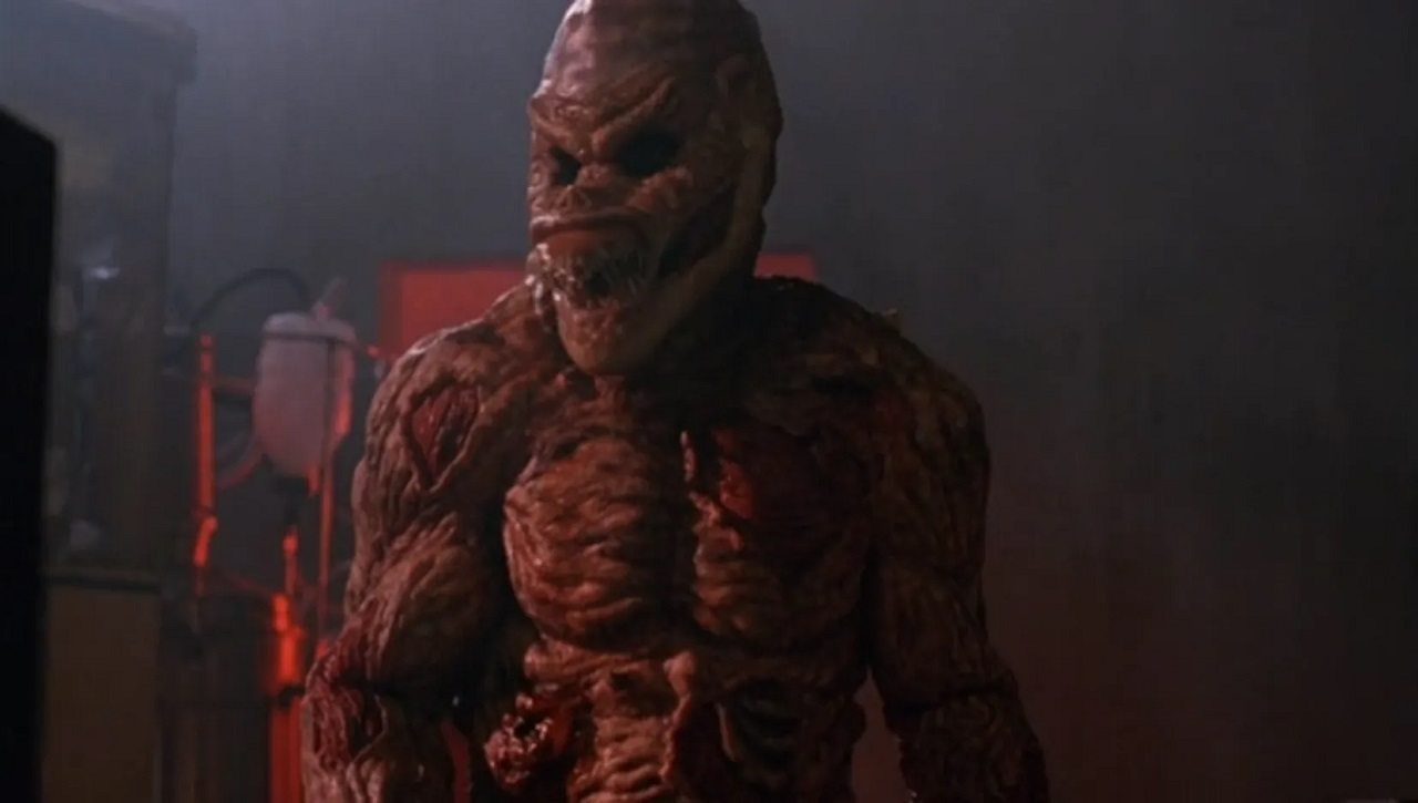The Gargoyle mutant monster in The Terror Within (1989)