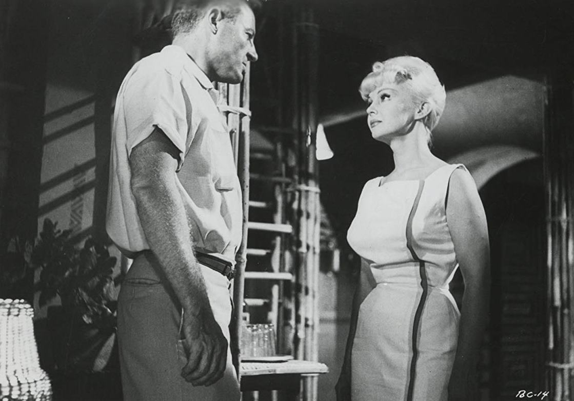 Richard Derr, Greta Thyssen in Terror is a Man (1959)