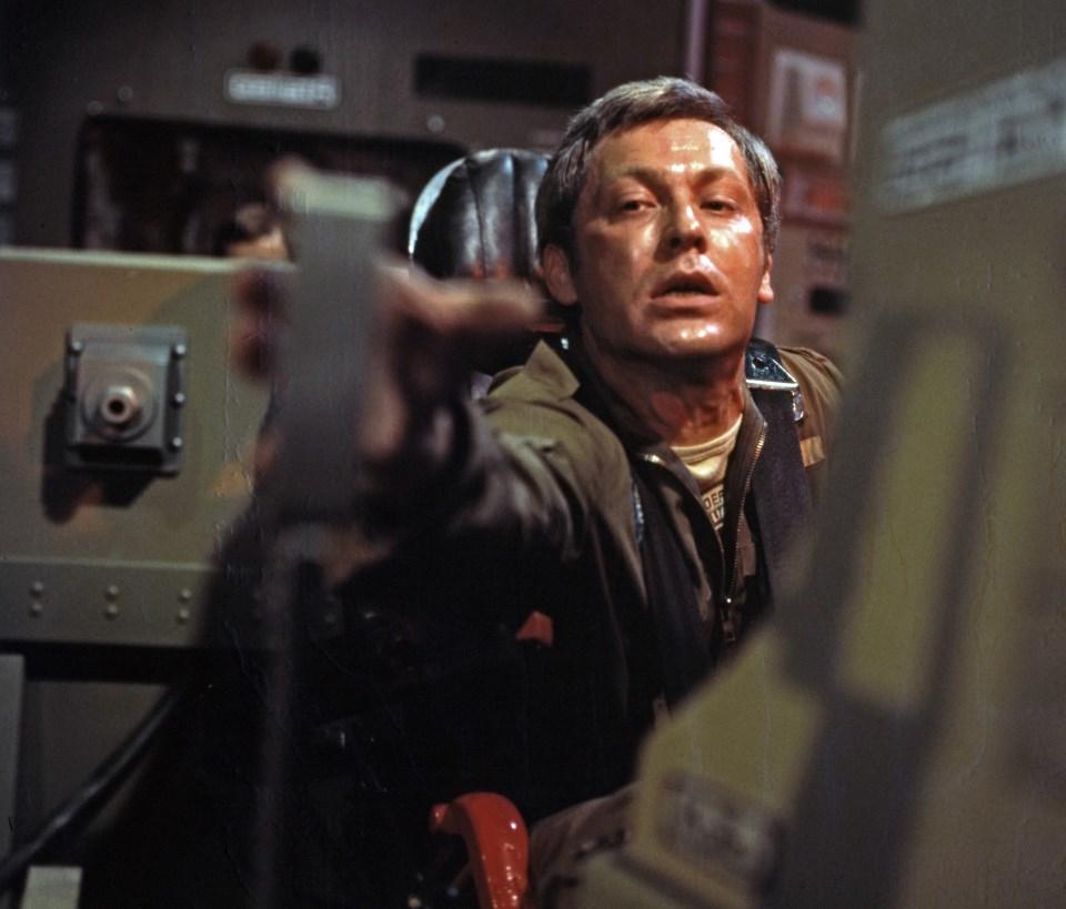 Sergiej Desnitski as Commander Pirx in Test Pilot Pirx (1979)