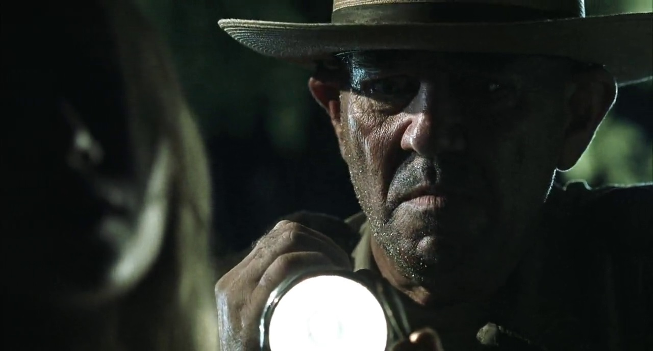 R. Lee Ermey as Sheriff Hoyt in The Texas Chainsaw Massacre (2003)