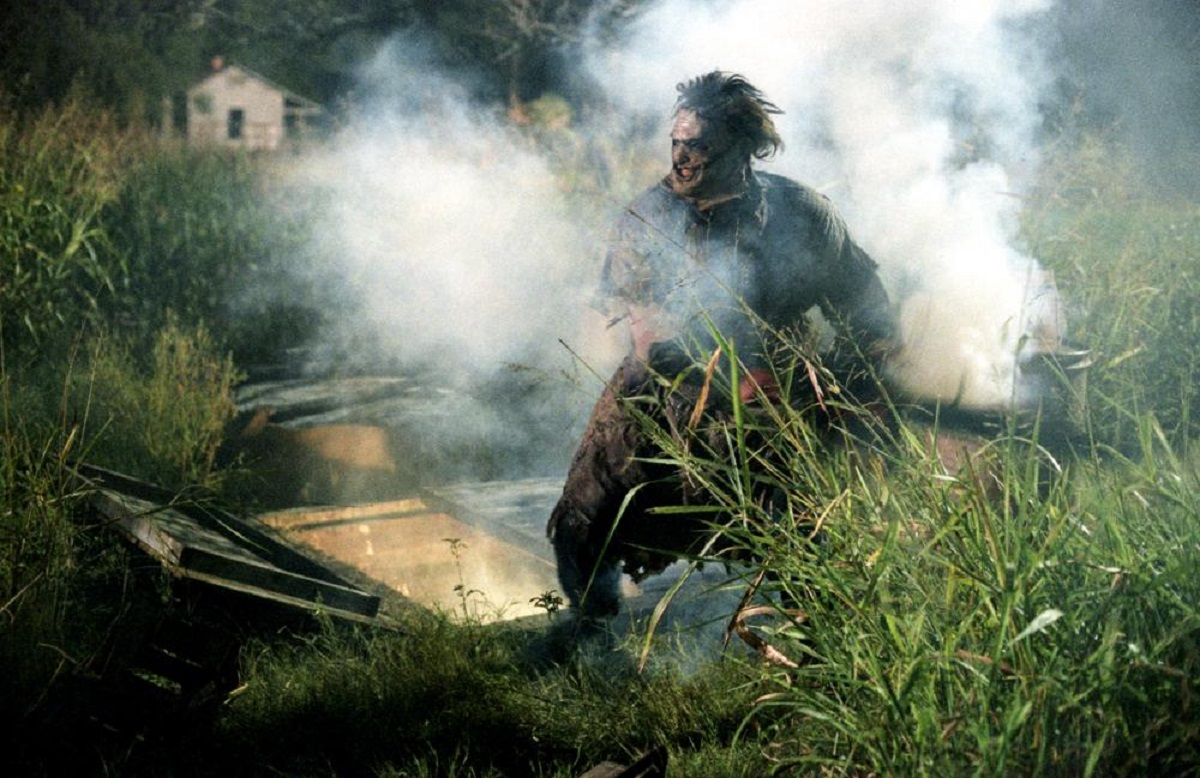 Leatherface (Andrew Bryniarski) in The Texas Chainsaw Massacre (2003)