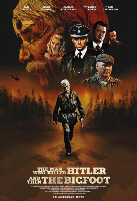 The Man Who Killed Hitler and Then The Bigfoot (2018) poster