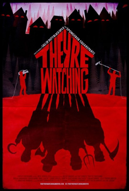 They're Watching (2016) poster