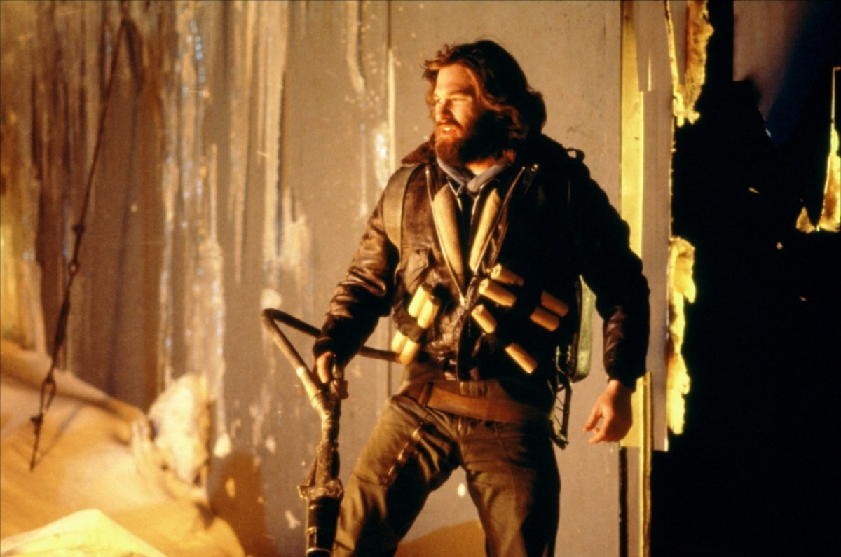Kurt Russell as MacReady in The Thing (1982)