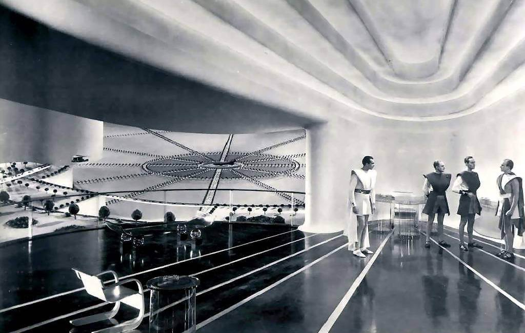 The scientific utopia of 2036 in Things to Come (1936)