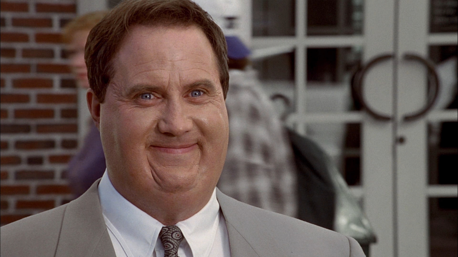 Robert John Burke as the obese lawyer in Thinner (1996)