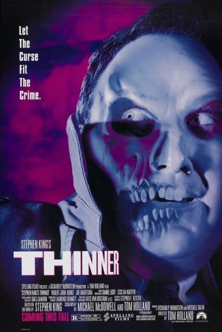 Thinner (1996) poster