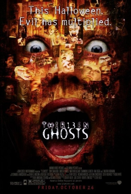 Thir13een Ghosts (2001) poster
