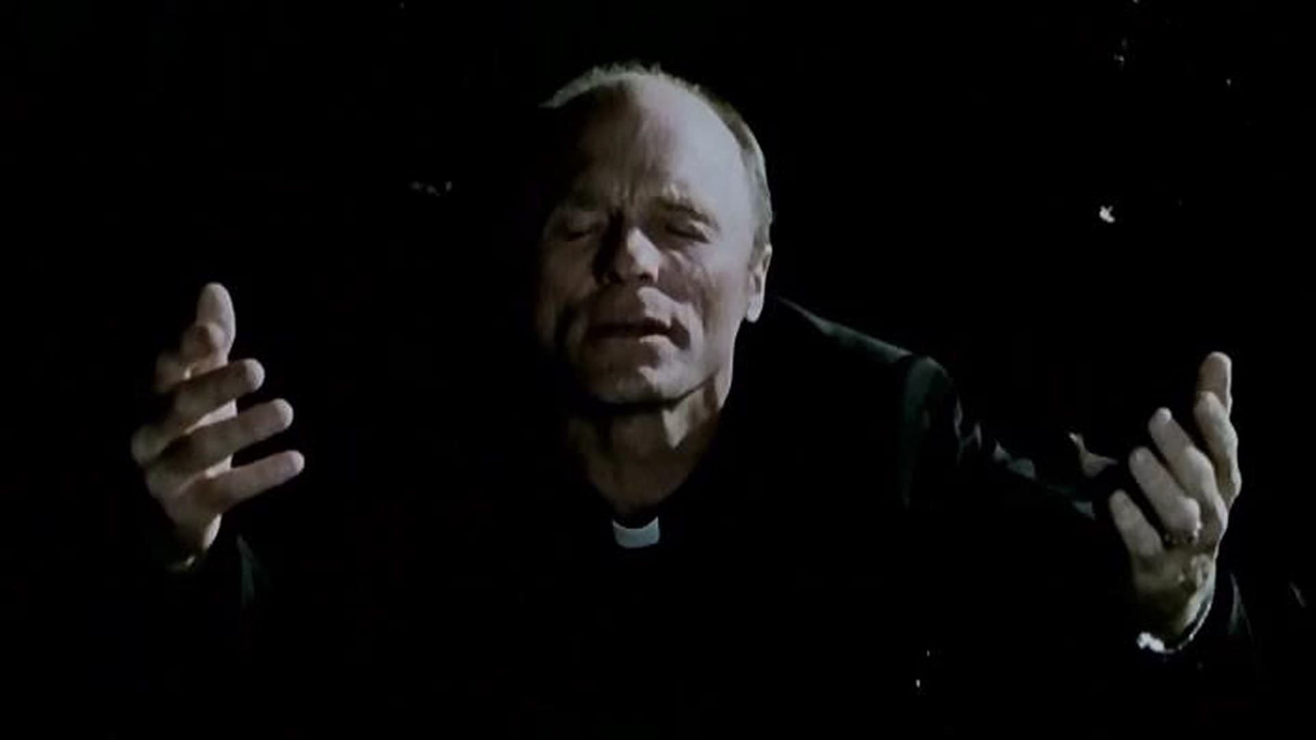 Ed Harris as a priest struggling with matters of faith in The Third Miracle (1999)