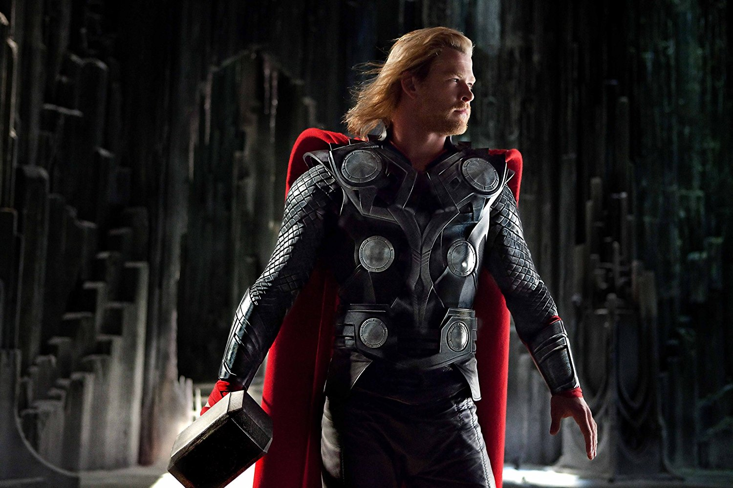 Chris Hemsworth as Thor in Thor (2011)