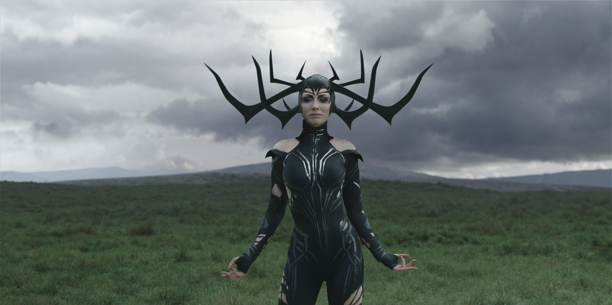 Cate Blanchett as Hela in Thor Ragnarok (2017)