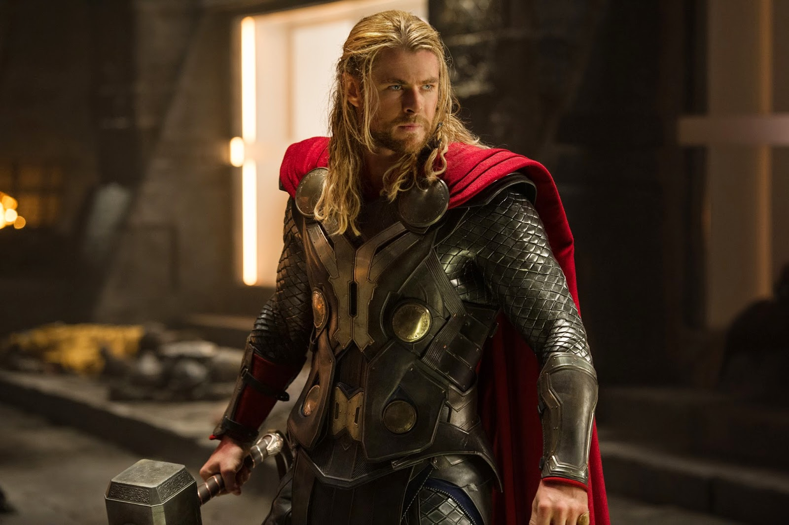 Chris Hemsworth as Thor in Thor: The Dark World (2013)