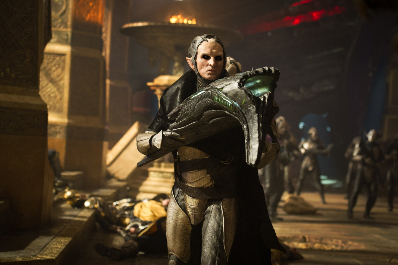 Christopher Eccleston as Malekith in Thor: The Dark World (2013)