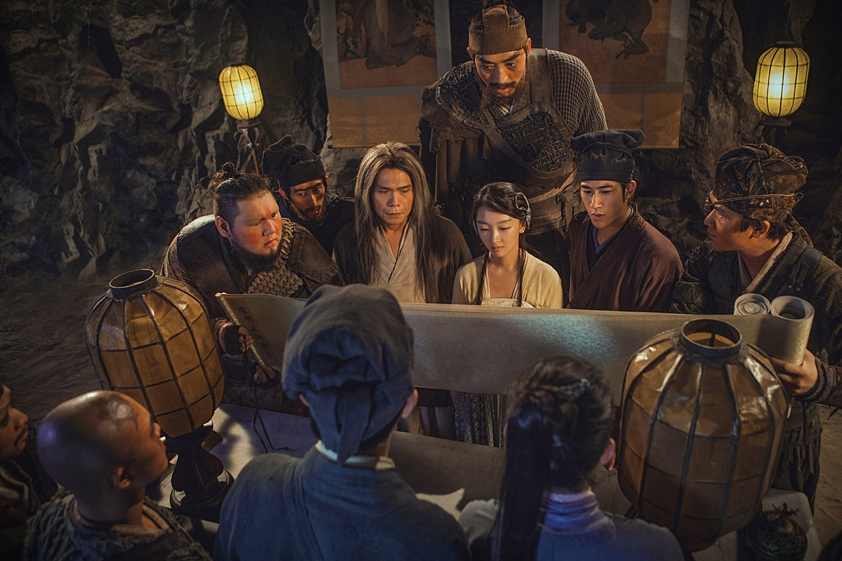 The Wuyin Clan in The Thousand Faces of Dunjia (2017)