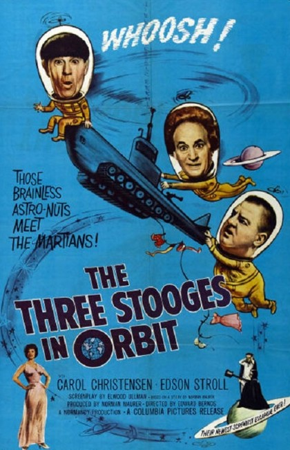 The Three Stooges in Orbit (1962) poster