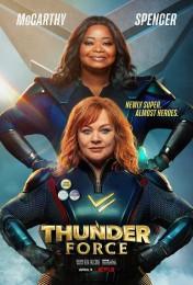 Thunder Force (2021) poster