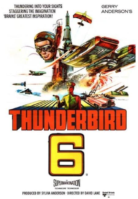 Thunderbird 6 (1968) poster