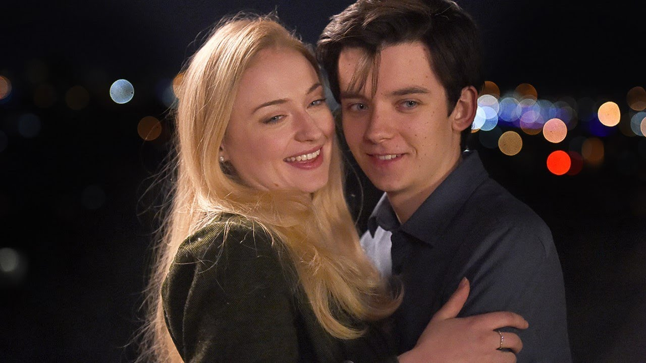 Sophie Turner and Asa Butterfield in Time Freak (2018)