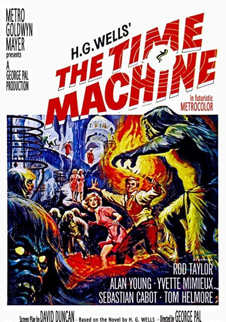 The Time Machine (1960) poster
