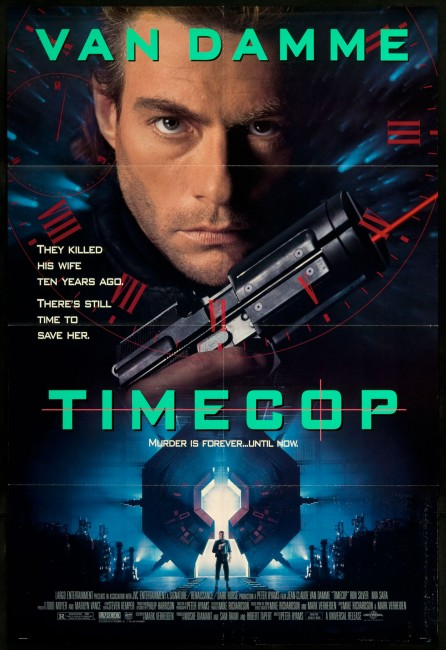 Timecop (1994) poster