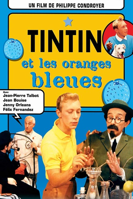 Tintin and the Blue Oranges (1965) poster