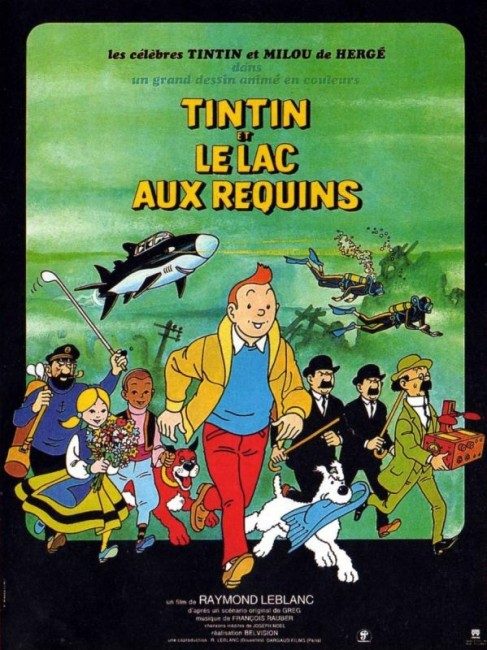 Tintin and the Lake of Sharks (1972) poster