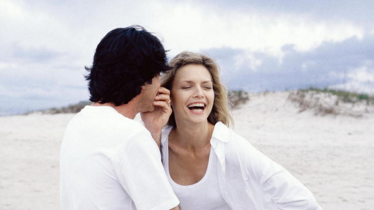 Peter Gallagher and his late wife Michelle Pfeiffer in To Gillian on Her 37th Birthday (1996)
