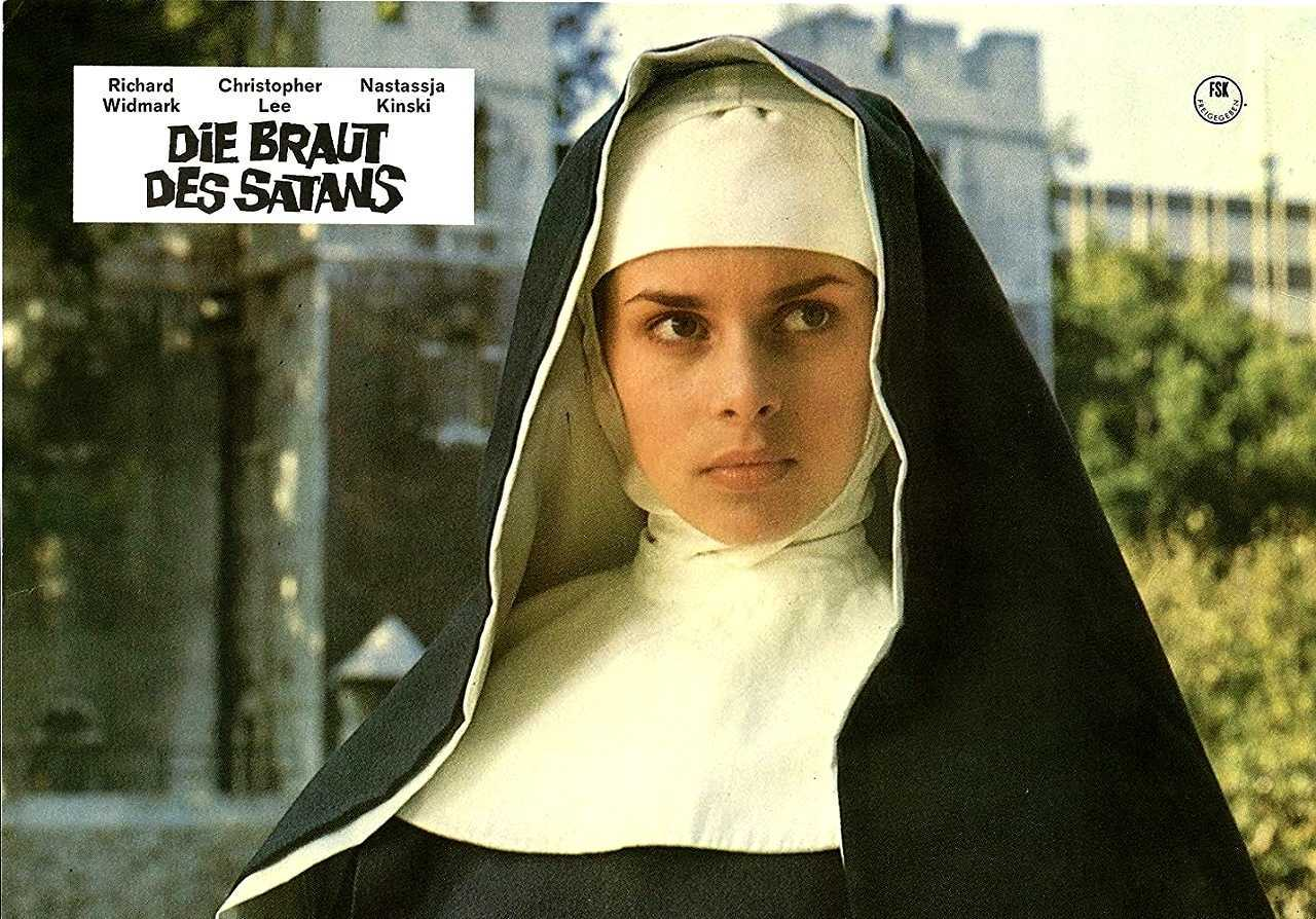 A seventeen year-old Nastassjia Kinski as Catherine Beddows in To the Devil a Daughter (1976)
