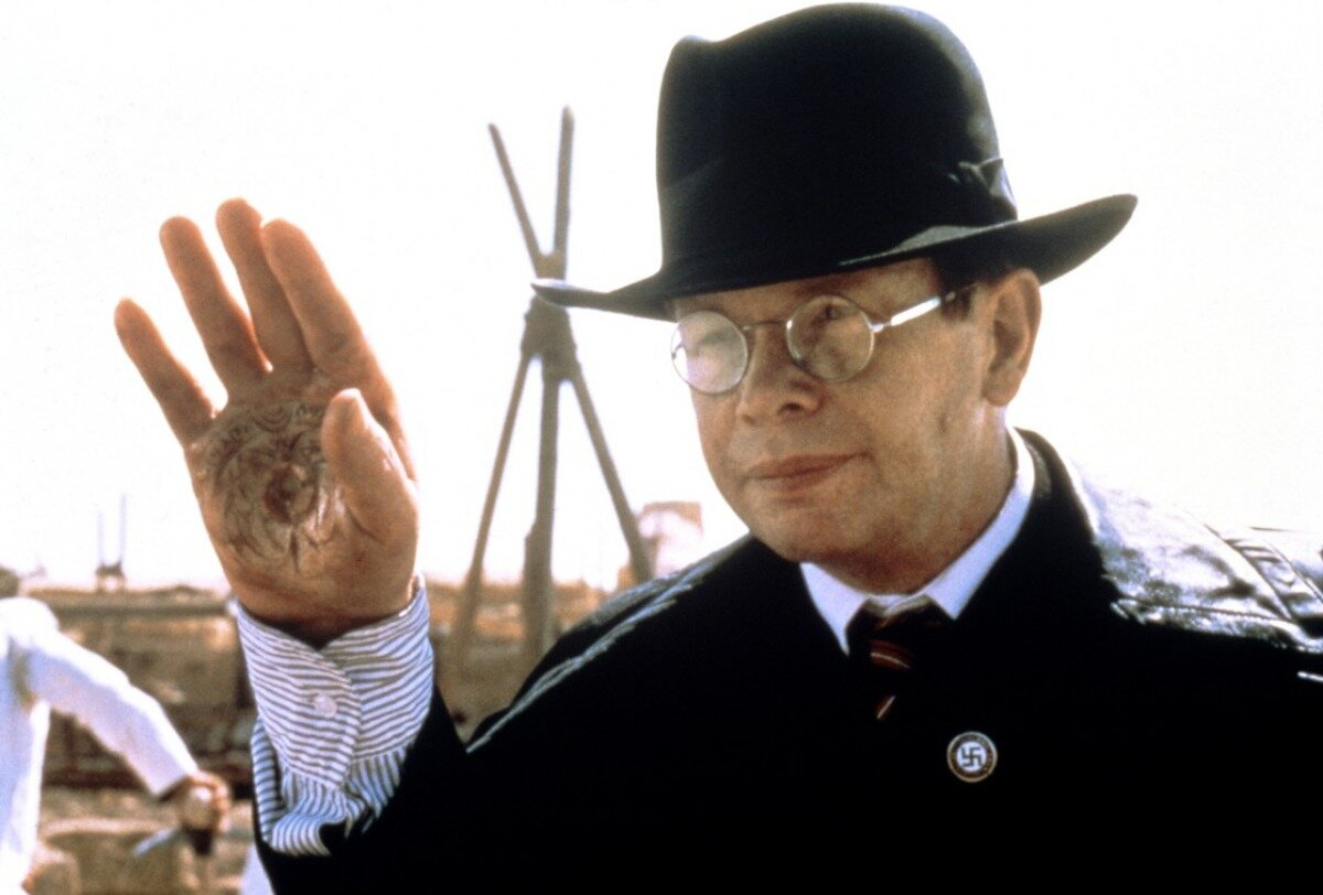 Ronald Lacey as Nazi villain Toht in Raiders of the Lost Ark (1981)