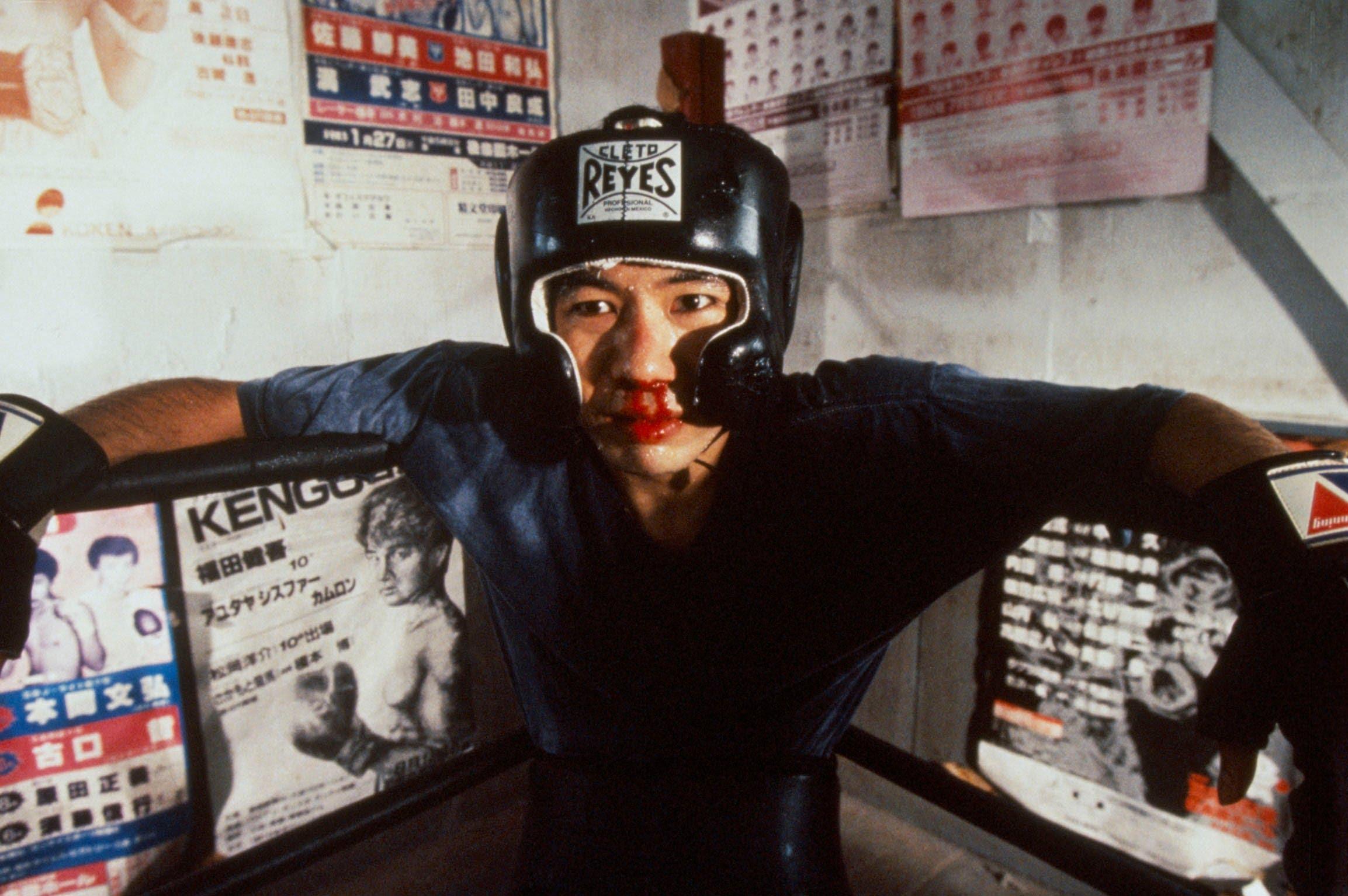 hinya Tsukamoto as the salaryman Tsuda in Tokyo Fist (1995)
