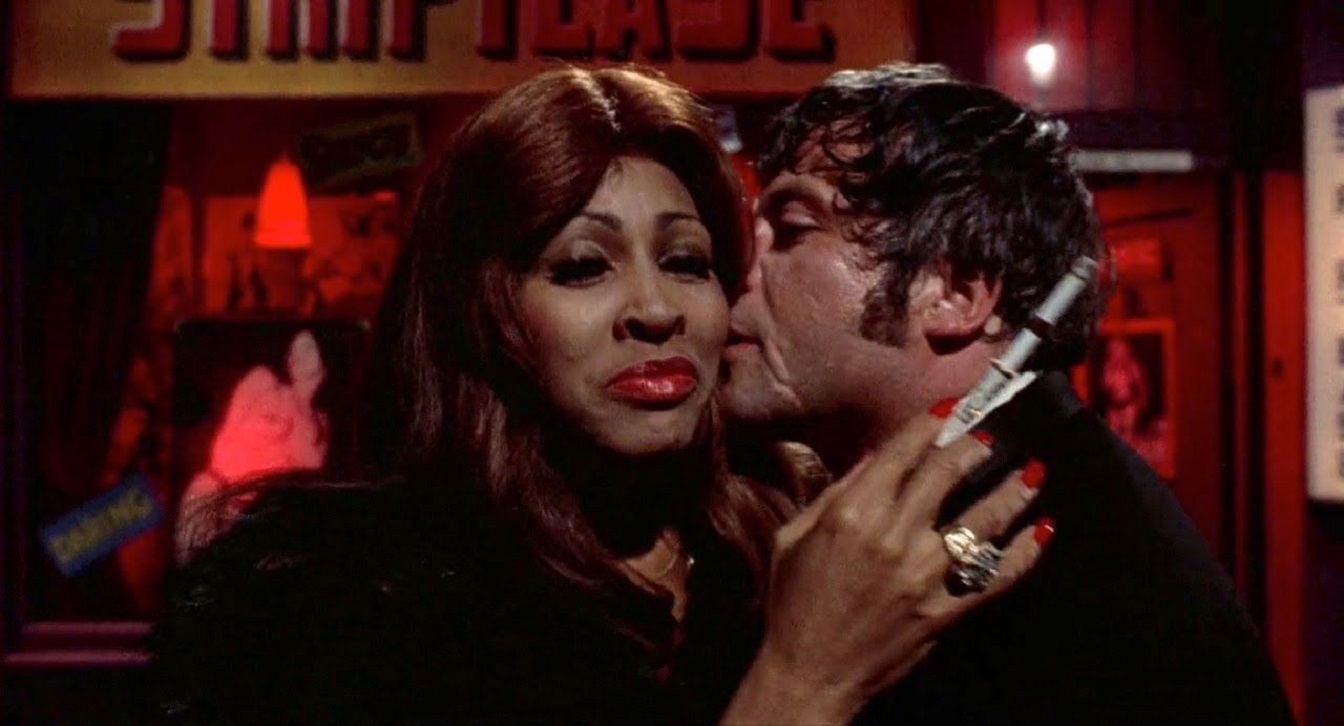 The Acid Queen (Tina Turner) with Oliver Reed in Tommy (1975)