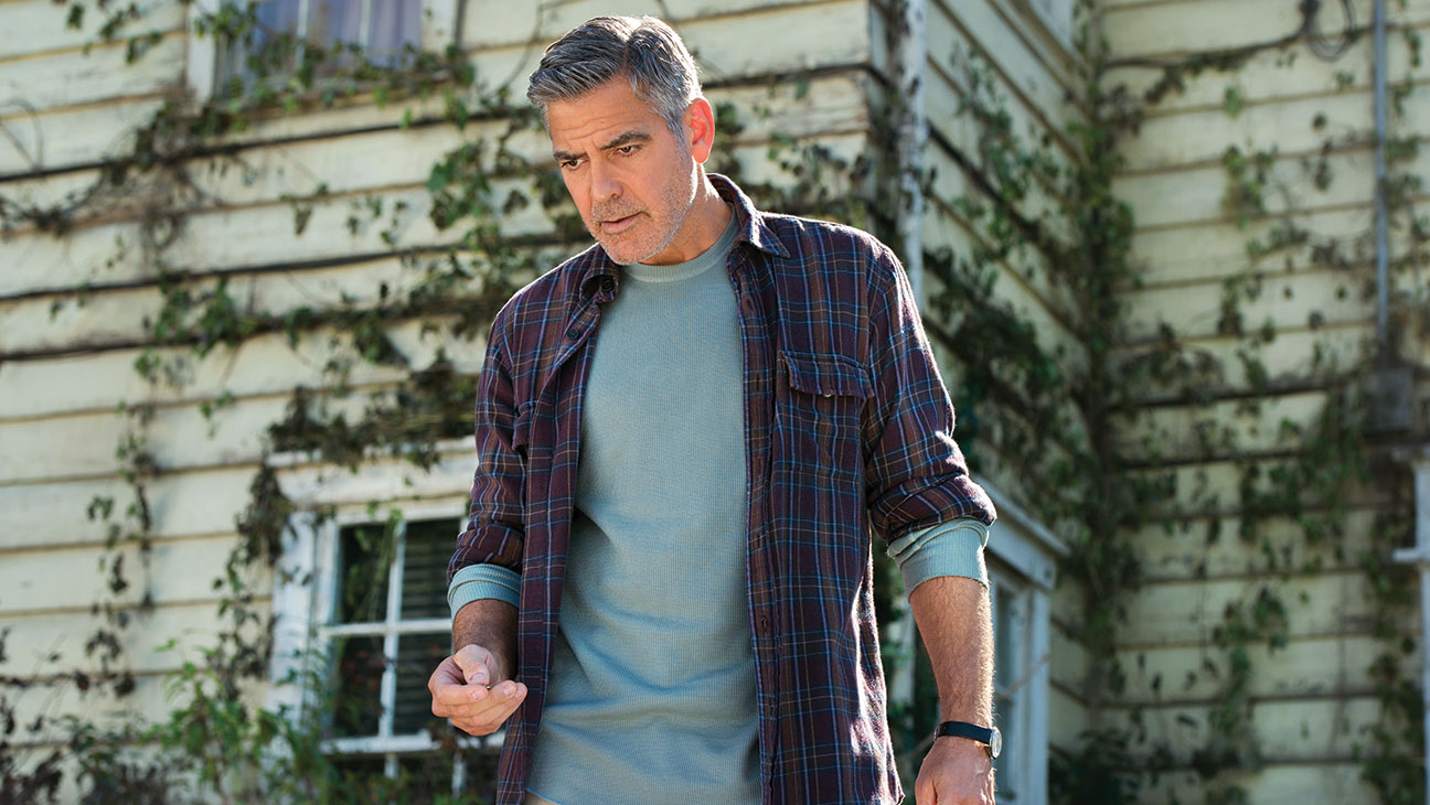 George Clooney as the embittered middle-aged Frank in Tomorrowland (2015)