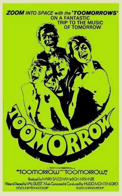 Toomorrow (1970) poster
