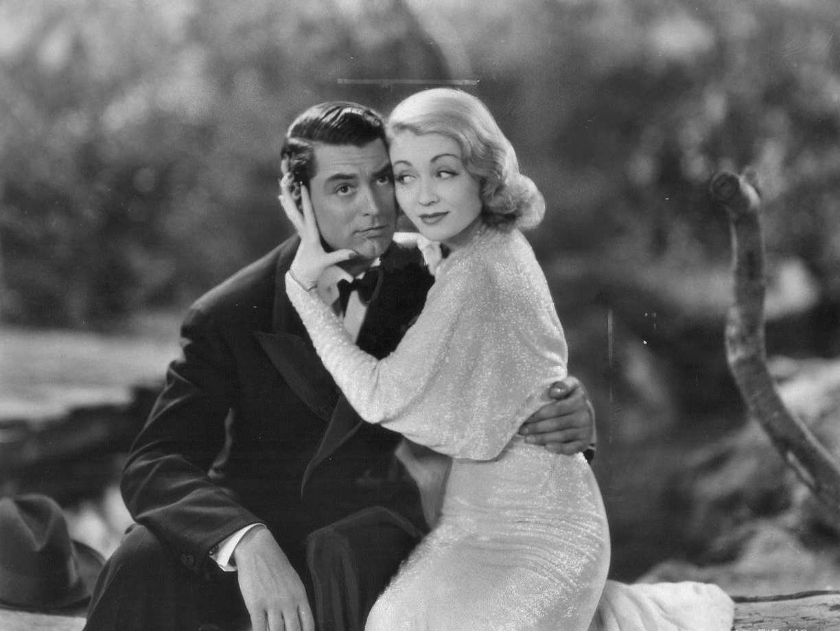 Ghostly couple George and Marion Kerby (Cary Grant and Constance Bennett) in Topper (1937)