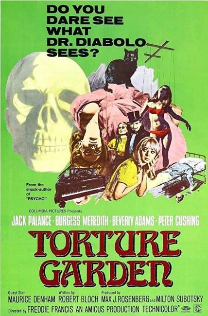 Torture Garden (1967) poster