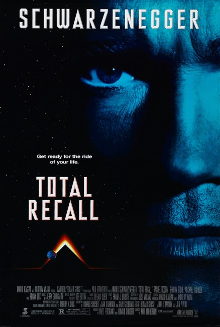 Total Recall (1990) poster